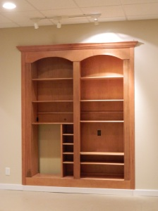Suite E Built In Shelving